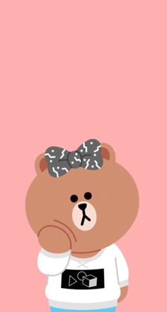 Wallpaper Hearts, Lines Wallpaper, Cute Wallpaper For Phone, Couple Wallpaper, Bear Wallpaper, Cute Disney Wallpaper, Kawaii Wallpaper, Cute Wallpaper Backgrounds, Cute Cartoon Wallpapers