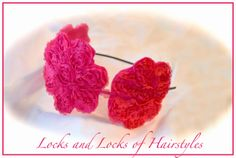 Cute Craft Ideas:  Lace Flower Headband
