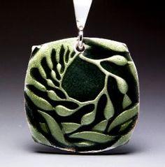 Kelp Enamel Relic by Michele Raney