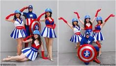 captain america chorus girls - Google Search LOVE the dresses!!! :D :P  @R KD  @Hayle Garcia I found them Hayle!!!