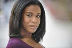 """This is Crazy Eyes in real life (actress Uzo Aduba). 