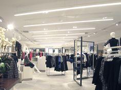Voisins of Jersey, Womenswear Department by Umbrella Design, St Helier – Jersey » Retail Design Blog