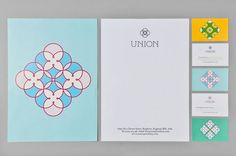 Union Jewellery identity by Brighton-based Red Design.