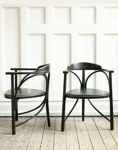 Vintage Black Art Deco Chair | Artilleriet | Inredning Göteborg