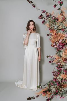 Lunaria — Kate Beaumont Bridal Wedding Dresses, Bridesmaid Dresses, Backless Wedding, Bohemian Gown, Beautiful Wedding Gowns, French Lace, Pretty Dresses, Wedding Inspiration, White Dress