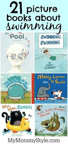 21 picture books about swimming