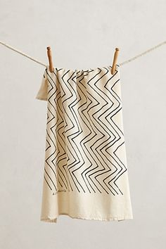 Chevron Dishtowel  #anthropologie.
