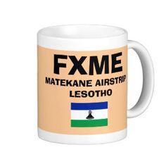 Matekane* Airfield Code Mug; www.zazzle.com/airports*