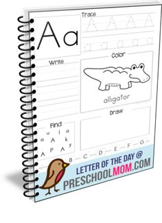 Free Letter of the Day Worksheets.  These worksheets provide children with different skill building activities on a daily basis.  -Read & Identify the letter -Say the Sound -Trace Uppercase -Trace Lowercase -Write Uppercase & Lowercase -Color Beginning letter animal -Seek and Find letter -Draw (items that begin with your letter) -ABC Order