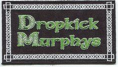 Dropkick Murphys Patch Punk Rock Celtic NEW Street Punk Boston Iron/Sew Woven