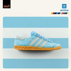 As part of their ongoing adidas archive series and to coincide with the opening of the new adidas Originals space in the size? Leeds store, UK's size? have received shipment of 100 pairs of this dapper frost blue Hamburg release. It's all tradition down below, with the supple suede upper served firmly planted upon a classic …