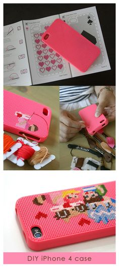 loving this idea...no if only I knew it would keep my phone safe from me...