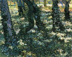 Undergrowth : Vincent van Gogh : Museum Art Images : Museuma