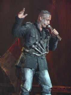 Till Lindemann - Rammstein MIG Tour 2011-2012 #TillLindemann #Rammstein #MIG