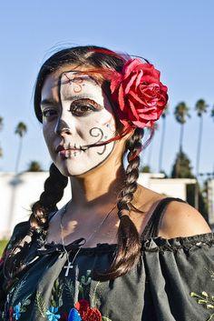 Dia De Los Muertos 2010 Hollywood, CA. by John Williams Phd, via Flickr