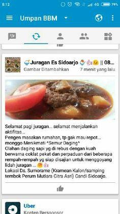 Semur daging ala juragan es