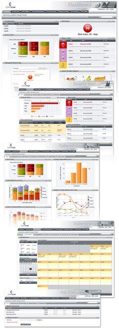 LightMix - Web interface design dashboard design