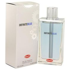 Infinite Blue by Bugatti Eau De Toilette Spray 4.16 oz (Men)