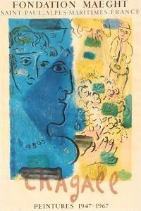 Fondation Maeght Peintures 1947 1967 Premium Edition Marc Chagall Art Com In 2021 Marc Chagall Exhibition Poster Chagall