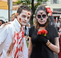 Halloween 2013, Faça você mesmo - Aposte nos Zumbis, eles estão bombando! Mais dicas de fantasias horripilantes, sangue falso e machucados