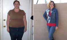 125 lbs - weight went on because she didn't know how to deal with stuff in life, severe depression; grew up with wholesome foods, but it was portion sizes in the privacy of her own home (food was her addiction), drank more water, walked, encouraged by the way her body responded to her changes. Feet stopped swelling, more energy, etc.