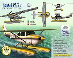 Second Life Marketplace - PREFABRICA P-1 SeaKite - Passenger Seaplane