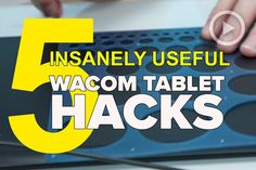 Wacom tablets are incredibly useful tools for those who often work in Adobe programs doing anything other than moving sliders. They may have a bit of a learning curve as new users adjust to the feeling of using a pen...