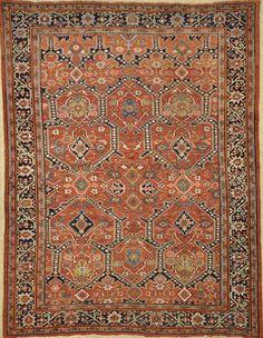 Antique Heriz Persian Room Sized Rug 48098 Antique Persian Rugs Room Size Rugs Rugs Rugs