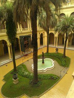 Inside Casa Rosada, Buenos Aires