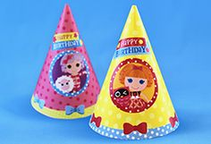 {free} printable Lalaloopsy Part Hats