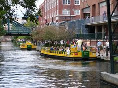 Bricktown Canal Water Taxis Oklahoma City Jigsaw Puzzle