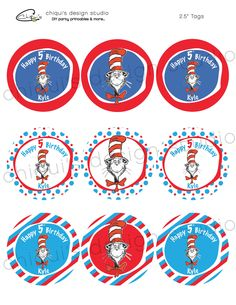 Dr. Suess Party on Pinterest | Dr Seuss Baby Shower, Dr. Seuss and ...