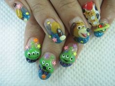 Toy Story nail art   Todokawaii