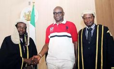 """""""I am particularly worried over the involvement of Justice Walter Onnoghen in the invasion, and I hope this is not a plot to prevent his appointment as the next CJN just because he is from the South South region.>>>https://goo.gl/MKYDD5"""