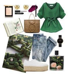Be My Valentine: Picnic by amber-medico on Polyvore featuring polyvore, fashion, style, Miu Miu, ViX, CLUSE, Gucci, Yves Saint Laurent, Urban Decay, NARS Cosmetics, Nest Fragrances, J.Crew and clothing