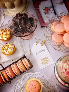The macaron is always sweet with your special people.
