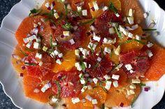 Recipe : mixed citrus salad with feta and mint