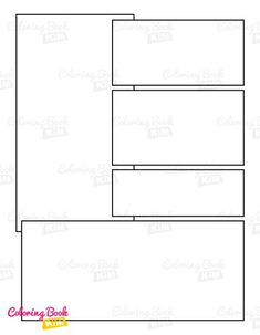 A blank comic book with professional panels to create great stories for children, adults, amateurs and professionals. 120 pages of templates designed to meet the highest requirements of both amateur and professional artists. Arranging the panels focuses on the main larger drawing, where we have the center of the page and smaller panels where we draw additions to the stage. Blank Comic Book, Comic Page, Comic Books, Stories For Kids, Great Stories, Create Your Own Comic, Comic Book Template, Larger, Stage