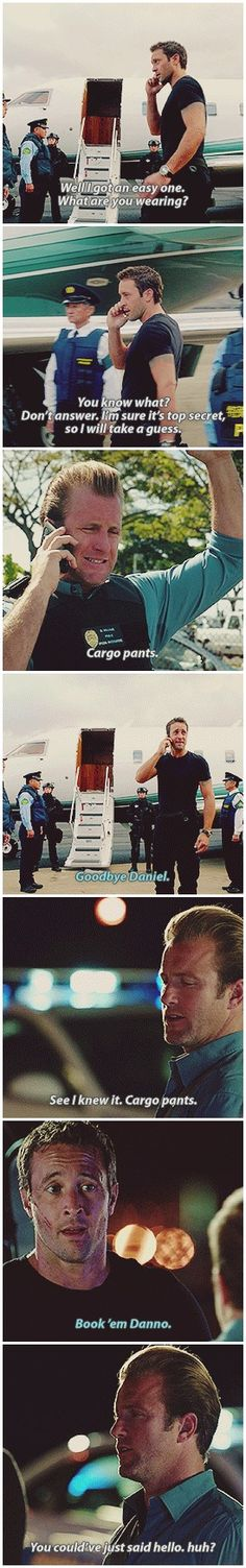 Danno and Steve being Danno and Steve! 2.22
