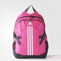 mochila adidas essentials linear rosa