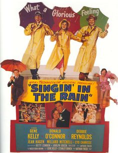 Magnet- Singin' in the Rain movie poster magnet Gene Kelly Debbie Reynolds Donald O'Conner Old Movies, Vintage Movies, Great Movies, The Rain Movie, Love Movie, Classic Movie Posters, Classic Movies, Singin In The Rain, Film Class