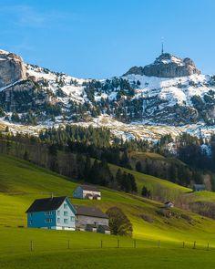 Brülisau, Canton of Appenzell Inner-Rhodes, Switzerland