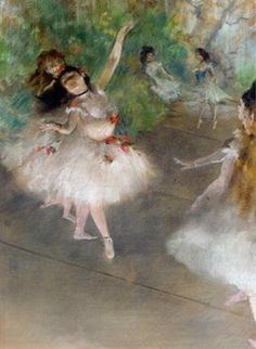 Dancers - Edgar Degas - Degas is one of the really great ones! #Impressionism