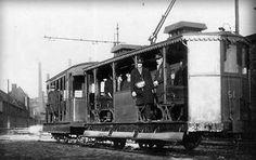 TRAM CANARD RUE COCKERILL EN 1926