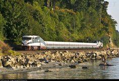 RailPictures.Net Photo: AMTK 468 Amtrak EMD F59PHI at Mukilteo, Washington by Andrew Kim