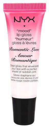 NYX Mood Lip Gloss, Romantic Love, 0.41 Fluid Ounce
