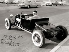 Ed Iskaderian's 1924 Model T roadster back in the day.