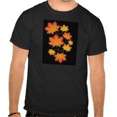 Goldener Herbst T Shirts