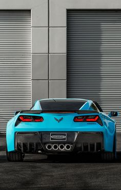 Chevrolet Corvette Forgiato Wide Body is one cool whip! Interested? Check it out today! #Chevy #dreamcar #spon