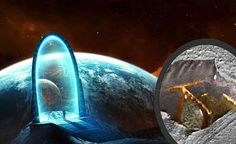 Ancient remains of extraterrestrial STARGATE Discovered on Mars